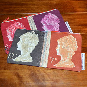 Postage Stamp Purse - bags & purses
