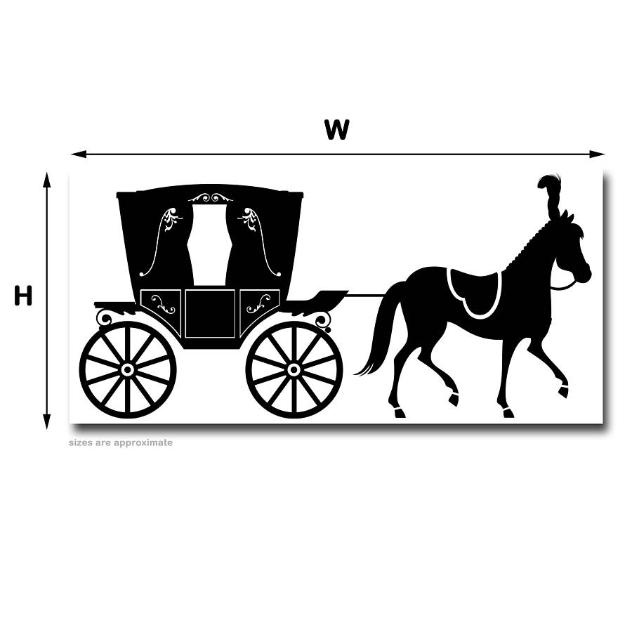 Horse And Carriage Drawing Princess Horse Drawn Carriage