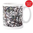 Personalised Map Mug With Choice Of Styles