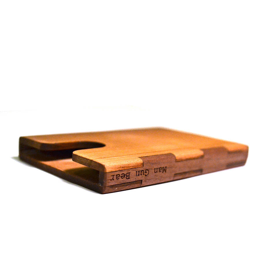Wooden business card holder by mgb by create gift love for Wood business card holder plans