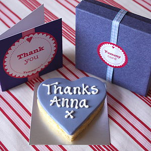 Thank You Cake Card - cakes