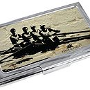 Rowing Business Card Case