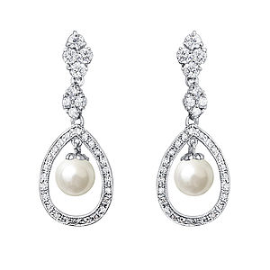 Marchesa Vintage Style Earrings - earrings