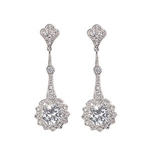 Aphrodite Crystal Earrings - earrings