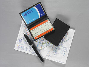 Leather Travel Card Holder - passport & travel card holders