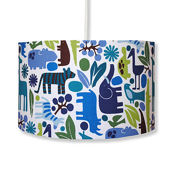 Blue Zoo Handmade Lampshade