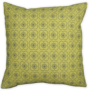 70'S Retro Print Cushion