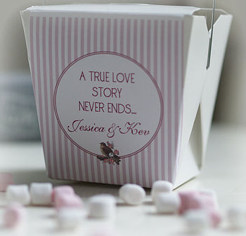 Sweet Personalised 'Me And You' Gift Box