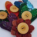 Handmade Felt Brooch Craft Kit