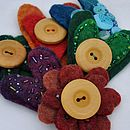 Handmade Felt Brooch Craft Kit