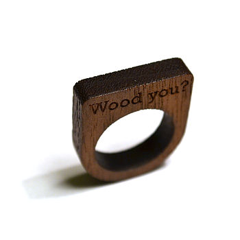 Unique Wooden Ring