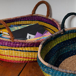 Large Zulu Basket - magazine racks