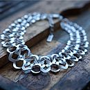 Intertwined Chain Necklace