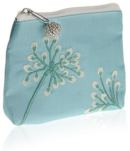 Asari Pink Silk Coin Purse - bags, purses & wallets