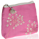Asari Pink Silk Coin Purse