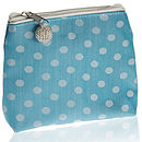 Asari Silk Dotty Purse