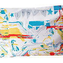 Personalised Circuit Board Pillow Case