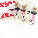 Message In A Bottle Personalised Token Gift