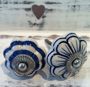 Flower Drawer Knobs - door knobs & handles