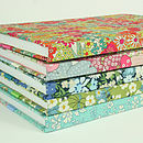 Liberty Print Fabric Notebook For Her