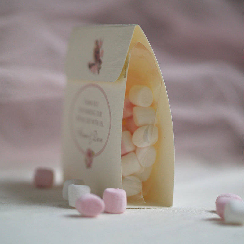 Vintage Chic Personalised Wedding Favours By Beautiful Day