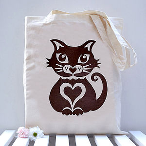 Cat Tote Bag - bags, purses & wallets