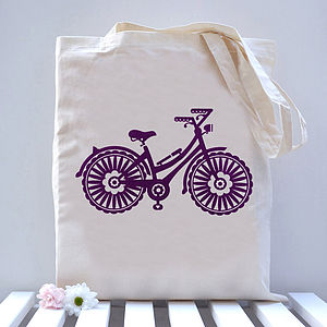 Bike Tote Bag - gifts for teenagers