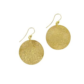 Bipapale Brass Earrings