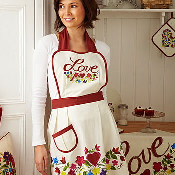 Boho Love Cotton Apron