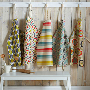 Oil Cloth Aprons - aprons