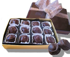 Dark Chocolate Ginger - food & drink gifts