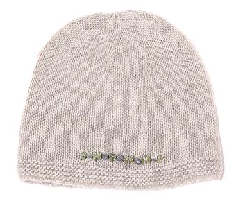 Cashmere Roses Beanie