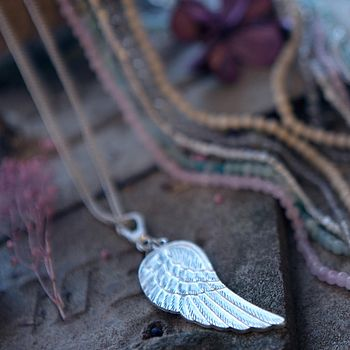 Long Wing Pendant