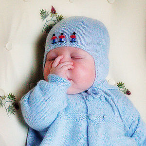 Cashmere Soldiers Flap Hat - babies' hats