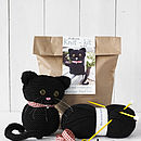 Black Cat Knitting Kit