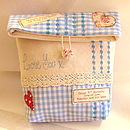Blue Beauty Bag