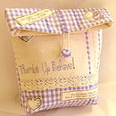 Lavender Beauty Bag