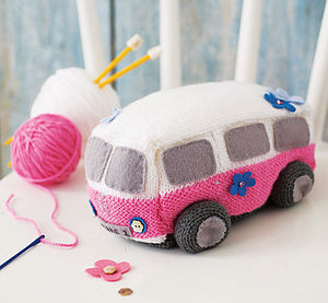 Surf Van Starter Knitting Kit - gifts for children