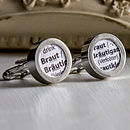 German Dictionary Definition Cufflinks.