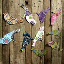 Handmade Paper Birds Or Butterfly Garland