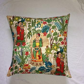 Frida Kahlo Floor Cushion