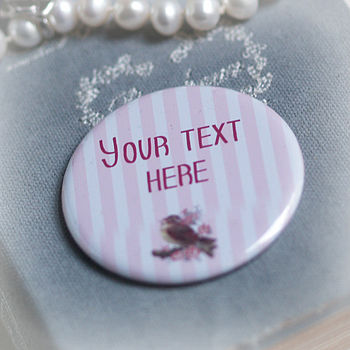 Personalised 'Your Message Here' Token