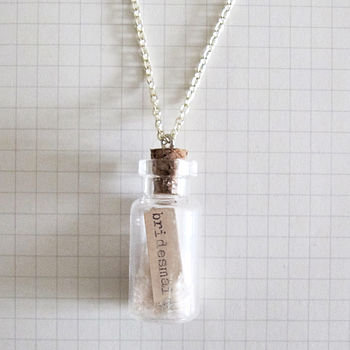 Personalised Bridesmaid Gift Necklace