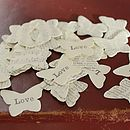 butterfly table confetti