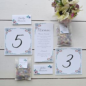 English Summer Garden Wedding Day Decor