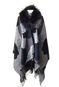 Fox Fur Collar Wrap - scarves & gloves