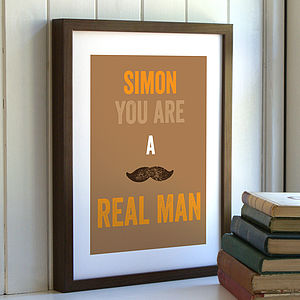'You Are…' Personalised Personality Print