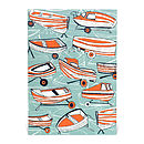 Boat Nostalgia Blank Greetings Card