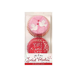 Sweet Valentine Cupcake Cases - cupcake cases