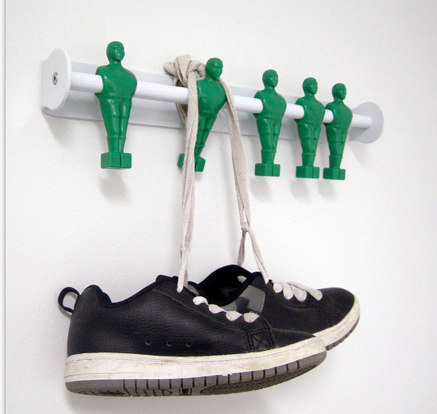 Superior Five A Side Football Coat Hooks